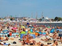 Beach too crowded